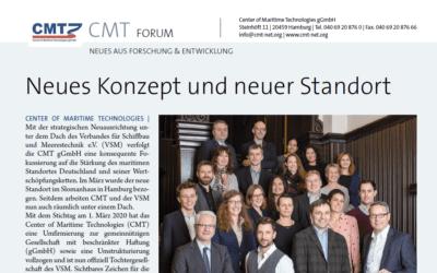 CMT-Forum: Schiff & Hafen Ausgabe Juni 2020