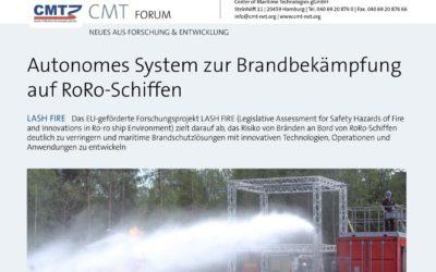 CMT-Forum: Schiff & Hafen Ausgabe September 2020