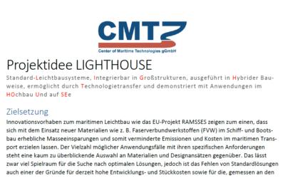 CMT sucht Werften für Leichtbauprojekt LIGHTHOUSE